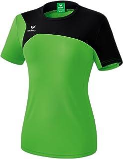 Erima GmbH Club 1900 2.0 Camiseta, Mujer, Green/Negro, 34