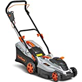 VonHaus <span class='highlight'>Electric</span> Rotary Lawnmower 1600W - 36cm Cutting Width & Adjustable Cutting Height – 50L Grass Collection Box