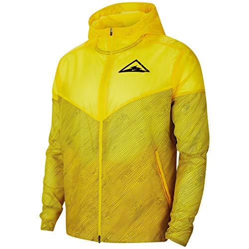 Nike Herren Wr Hd Trail Fleece-Jacke, Speed Yellow/Black, S