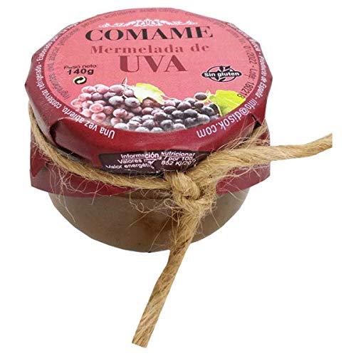 Lote de 24 Mermeladas UVA 140 Gr. - Mermeladas Originales para Detalles de Bodas, Recuerdos y regalos de Comuniones y Bautizos