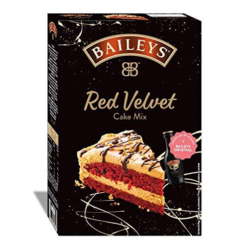 RUF Red Velvet Cake Mix mit Original Baileys Likör, 545 g