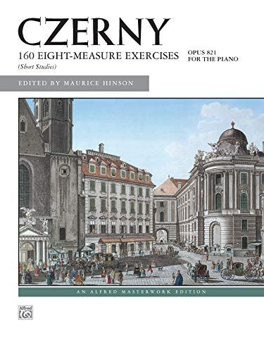 160 Ubungen Op. 821 (Alfred Masterwork Library)