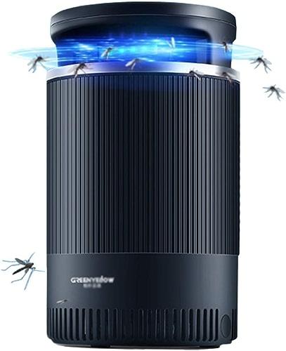 HH- Piège électrique De Tueur De Moustique avec La Lumière UV Attirant, Insecte Zapper pour Le Jardin à La Maison D'intérieur, 7W, Noir