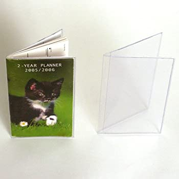 StoreSMART - Clear Plastic Cover for a Pocket Planner - 6 Pack - RSP1855-6