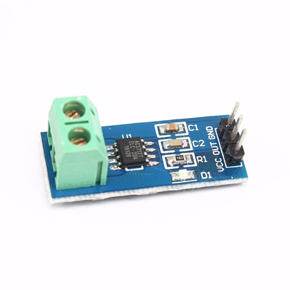 勤勉な離婚値下げWillBest 10PCS ACS712 20A Range Hall Current Sensor Module ACS712ELCTR-20A Module For Arduino
