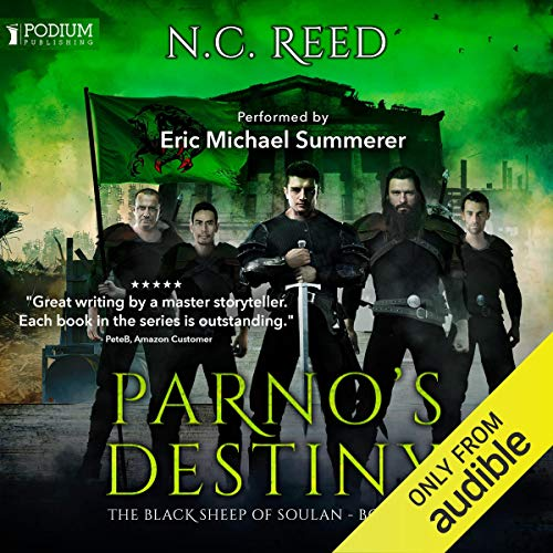 Parno's Destiny Audiobook By N.C. Reed cover art