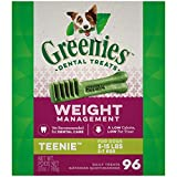 GREENIES Weight Management TEENIE Natural Dog...