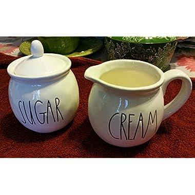 Rae Dunn by Magenta  Sugar and Cream Set of 2