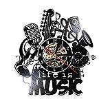 CVG 1Piece Seiko Christmas LED Reloj de Pared Imagen Completa para Cool Wall Clock Music 95 Seiko Musical Reloj de Pared Reparación Zoom Seiko Mini
