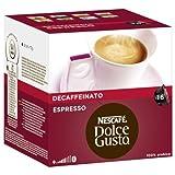 Nescafé Dolce Gusto Espresso Decaffeinato - Pack de 3, 3 x 16 cápsulas por Nescafé