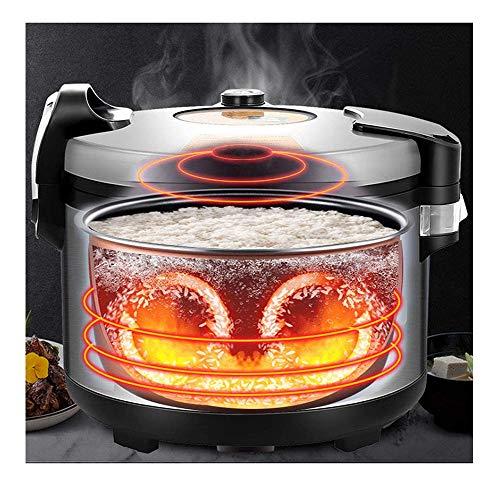 Hervidor arroz/arrocera,Multi 10-25l Vaporizador Arroz de Gran Capacidad,una Tecla de Cocción Automática...