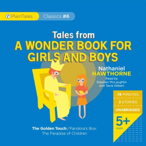 Tales from 'A Wonder Book for Girls and Boys' audiobook cover art