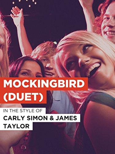 Mockingbird (Duet) im Stil von