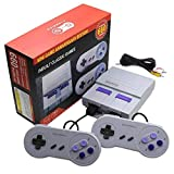 Classic Handheld Retro Game Console with 2 NES Classic Button Controllers,Built-in 660 Classic Games,Av Output Video Games,Childhood Classic Game and Gift (2021 Upgraded