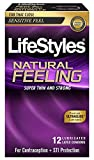 LifeStyles Natural Feeling - 12 Pack