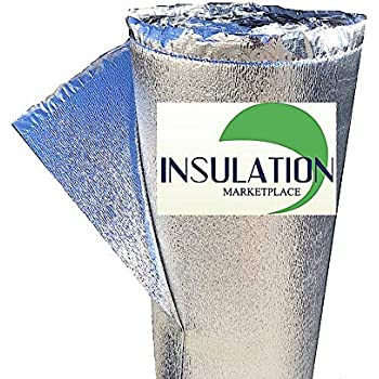 "SmartSHIELD -3mm 48""x10Ft Reflective Insulation Roll, Foam Core Radiant Barrier, Thermal Foil Insulation, Commercial Grade"