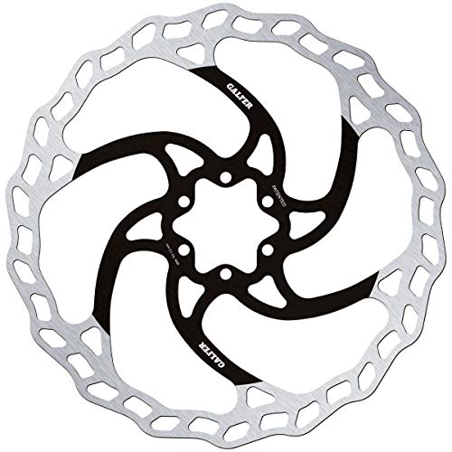 Galfer MTB/E-Bike Disc Wave Ø203x2.00mm, Adultos Unisex, Negro, ESTANDAR
