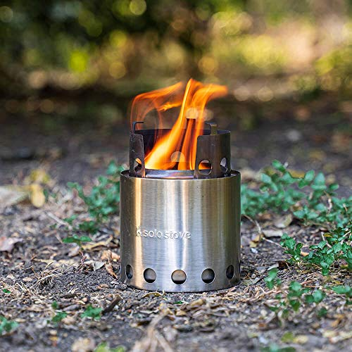 Product Image 1: Solo Stove Lite – Portable Camping Hiking and Survival Stove | Powerful Efficient Wood Burning and Low Smoke | Gassification Rocket Stove for Quick Boil | Compact 4.2 Inches and Lightweight 9 Ounces
