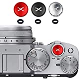 3 x Botón de Liberación Suave para Fujifilm Fuji XT4 XT30 XE4 X100F XPRO3 etc.