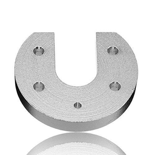 QOHFLD Accessori per Stampante V6 Hot End in Lega di Alluminio Groove Mount per Accessori per stampanti 3D