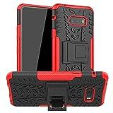 LiuShan Kompatibel mit LG G8X ThinQ Hülle, Dual Layer