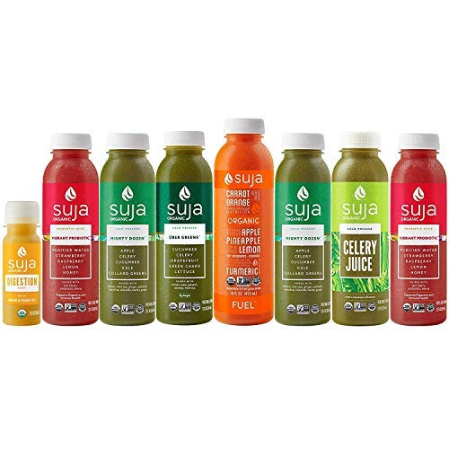 Suja 3-Day Juice Cleanse   Organic, Cold-Pressed Cleanse Supports Immune & Digestive Health   Delicious Greens + Real Fruit   Plant-Based, Gluten-Free