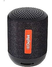 Digitek Super Bass Bluetooth Speaker DBS-021 IPX7 Water Resistant | TWS | in Built Mic | Up-to 10 Hours Playtime Speaker for Home, Outdoors, Travel
