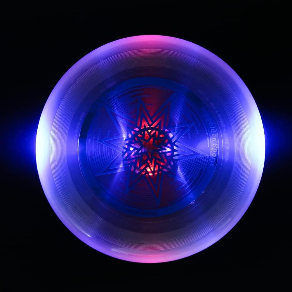 EZGETOP Ultimate Disc 175 Gram favorite Glow LED Dedication The Dark Flying in
