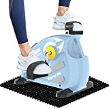 cycool Portable Mini Exercise Bike Under Desk Bike Pedal Exerciser for Legs and Arms with LCD Display (S1)