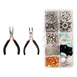 OHDUJK DIY Earring Making Kit Jewelry Components Materials Tools Repair Supply