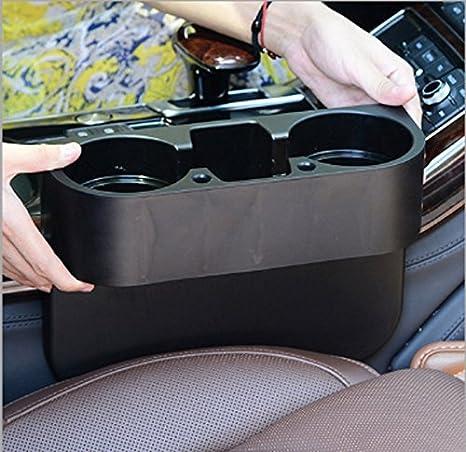 MZY1188 Porte-gobelets pour Voiture,ABS Porte-gobelet pour Voiture /à Double Trou pour Voiture Accessoires universels pour Voiture Porte-gobelets durables Porte-gobelet Isolant