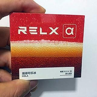 RELX α replacement pods 2pcs 悦刻二代阿尔法替换烟弹 多种口味 两颗三颗混装 (滋滋可乐 コーラ)