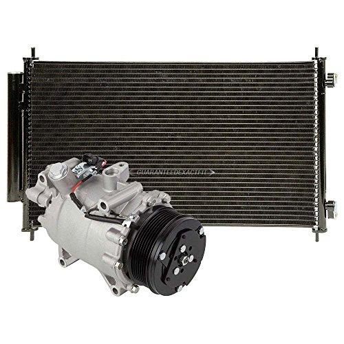 AC Compressor w/A/C Condenser & Drier For Honda CR-V CRV 2007 2008 2009 2010 2011 - BuyAutoParts 60-86953R3 New
