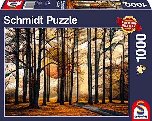 Schmidt Spiele Puzzle 58396 Magischer Wald, 1.000 Teile Puzzle, bunt