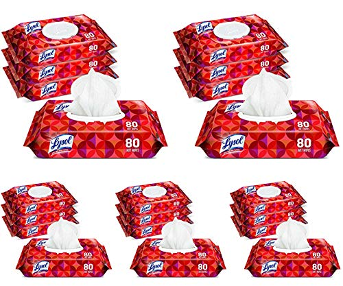 Lysol Handi-Pack Disinfecting Wipes, 80ct, Tropical Scent