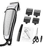 Katyma cortapelos para Hombres Set de afeitadora para el Cabello con Tijeras, Peine, Cepillo de Limpieza para niños y familias