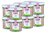BIOPUR Bio Katzenfutter Schaf & Reis für Katzen 12x100g