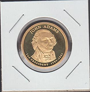 2007 John Adams Presidential (2007-2016) $1 Proof