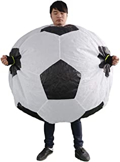 HUAYUARTS Men's Inflatable Costume Boys Giant Blow up Party Halloween Football Cosplay