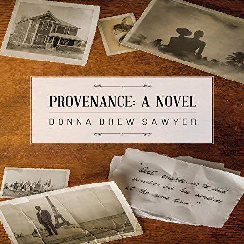 Provenance: A Novel audiobook cover art