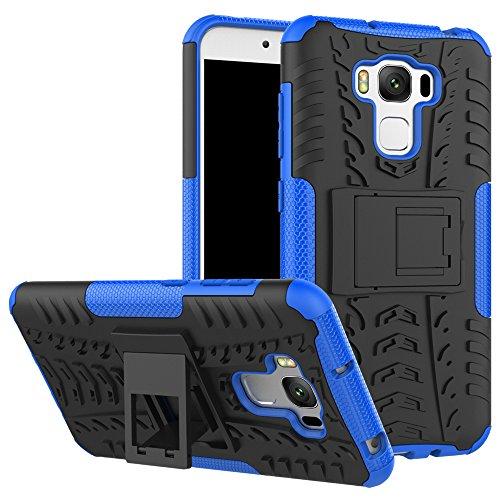 """ASUS Zenfone 3 Max 5.5"""" (ZC553KL) Custodia, FoneExpert® Resistente alle cadute Armatura dell'impatto Robusta Custodia Kickstand Shockproof Protective Case Cover Per ASUS Zenfone 3 Max 5.5"""" (ZC553KL)"""