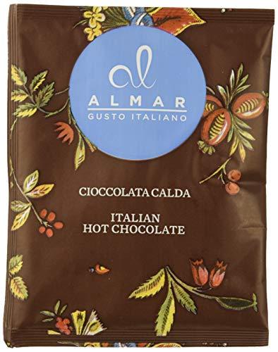Almar italienische heiße Schokolade Cortina WEISS mit KOKOSNUSSFLOCKEN- (25x30 g) Einzelbeutel, 750 g