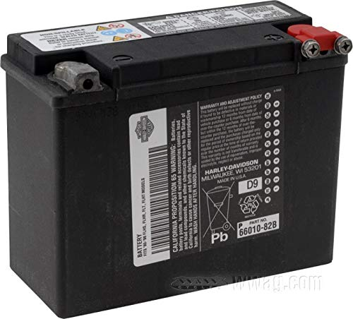 HARLEY-DAVIDSON Motorrad AGM Batterie Modernste Technologie H-D Logo 66000209