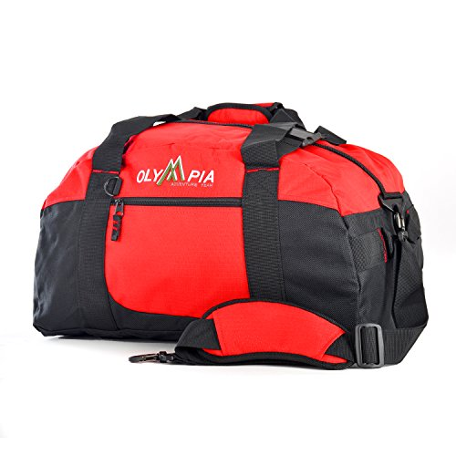 Olympia 21' Sports Duffel, Red, One Size