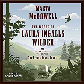 The World of Laura Ingalls Wilder audiobook cover art