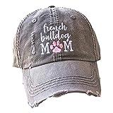 Loaded Lids, Customized, Women's French Bulldog Hat, French Bulldog Mom Hat, French Bulldog Baseball Cap