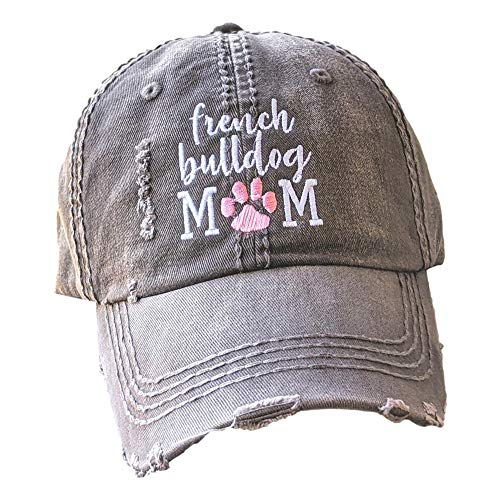Loaded Lids, Customized, Women's French Bulldog Hat, French Bulldog Mom Hat, French Bulldog Baseball Cap