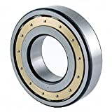 FAG 23976MB Spherical Roller Bearing, Brass Cage, Normal Clearance, Metric, 380mm ID, 520mm OD, 106mm Width, 950rpm Maximum Rotational Speed
