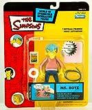 MS. BOTZ The Simpsons シンプソンズ Series 14 World Of Springfield スプリングフィールド Interactive Action Figure フィギュア ダイキャスト 人形(並行輸入)