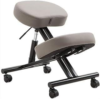 YUTRD ZCJUX Silla para Juegos de Cuero para Ordenador de Oficina en casa Silla para Sentarse en la Cintura Silla Correct...